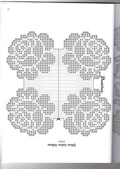 Predivni Heklani Radovi I Sheme 44 - Salvabrani Crochet Skull Patterns, Crochet Stitches Patterns, Doily Patterns, Crochet Designs, Filet Crochet Charts, Crochet Diagram, Crochet Motif, Crochet Doilies, Fillet Crochet