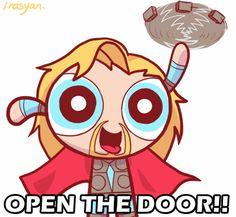 LOKI~~OPEN THE DOOOOOOOOOOR~~~~~~~!!