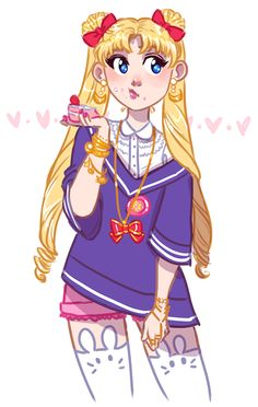 been watching SO MUCH sailor moon lately