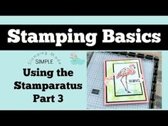 Card tutorials, craft tips, and Stampin' Up products Card Making Tips, Card Making Techniques, Making Ideas, Stamping Tools, Rubber Stamping, Easy Youtube, Card Tutorials, Video Tutorials, Get Well Cards