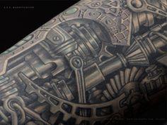 Steampunk Inspired Tattoos