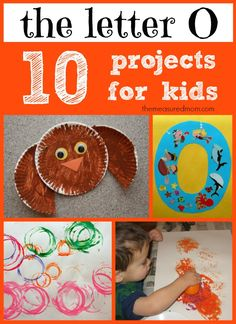 crafts for letter O the measured mom Letter O Crafts for Preschool & Kindergarten