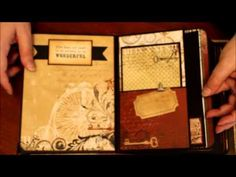 Family Scrapbook Mini Album utilizing Kathy Orta's All Occasions Mini Album tutorial.  Let me just say, I'm horrible at doing videos. But it's the best way to see the project so  . . . . . hope you like it.