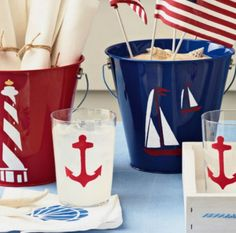 Nautical and Coastal Craft Supplies and Decor from Michaels: http://www.completely-coastal.com/2008/01/craft-coastal-with-michaels.html