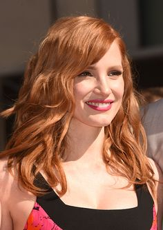 Jessica Chastain attends The Hollywood Walk Of Fame ceremony for Matthew McConaughey on November 17, 2014 in Hollywood, California