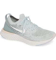 120b4e70f9e3 Free shipping and returns on Nike Epic React Flyknit Running Shoe (Women)  at Nordstrom