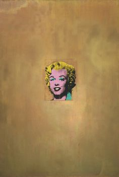 """""""Gold Marilyn Monroe"""" By Andy Warhol Silkscreen ink on synthetic polymer paint on canvas, 11 x x cm). Gift of Philip Johnson. © 2012 Andy Warhol Foundation for the Visual Arts / Artists Rights Society (ARS), New York Museum of Modern Art, New York. Andy Warhol Obra, Andy Warhol Artwork, Marilyn Monroe 1962, Jamie Wyeth, Arte Pop, Pop Art, Ouvrages D'art, Social Art, Art Icon"""