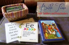 Bible Time Ideas for Toddlers and Preschoolers