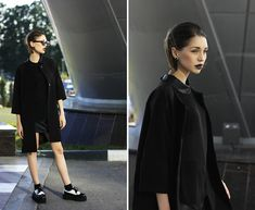 ALL BLACK BY KSENIA R., 23 YEAR OLD BLOGGER, ARTIST FROM SAINT PETERSBURG, RUSSIA, RUSSIAN FEDERATION