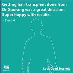 Deepak (New Delhi) Hair Transplant, Super Happy, Identity, Names, Personal Identity