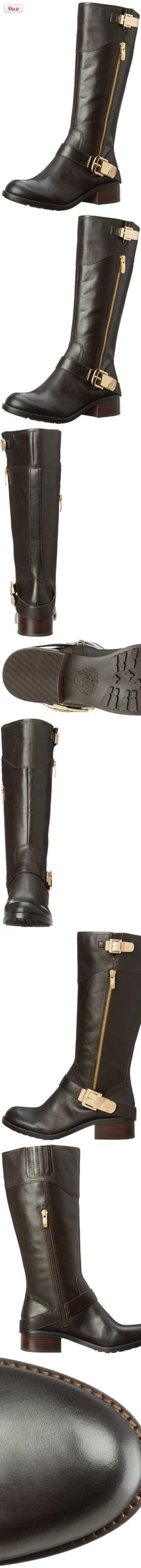 Vince Camuto Women's Waymin Motorcycle Boot,Fudge Brownie,6.5 M US- My new boots from 6PM.  Love them!