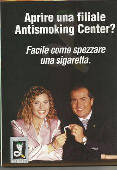 Patrizia Rossetti (Show Girl Televisiva)  Ho smesso di fumare con il sistema Elektromeridian Kobra presso l'Antismoking Center di Bergamo nel 2001, subito dopo il trattamento ho avvertito una repulsione verso la sigaretta, ed è anche per questo che ho scelto di fare da testimonial per questo incredibile metodo.