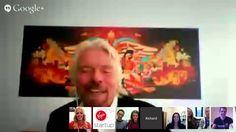 Richard Branson meets the Virgin StartUp Entrepeneurs