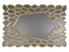 Espejo en mosaico en oro. www.actuadecor.com                                                                                                                                                                                 Más Mirror Mosaic, House Ideas, Home Decor, Stained Glass Windows, Mosaics, Stained Glass, Gold, Decoration Home, Room Decor