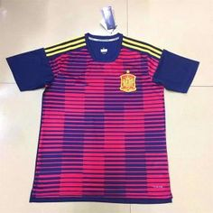 72c62e2ed56 2018 World Cup Jersey Spain Replica Red Training Shirt 2018 World Cup  Jersey Spain Replica Red Training Shirt