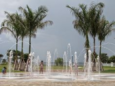 Fountains for the kids at Laishley park. Located in Punta Gorda, Florida. Executive Cooling & Heating - Google+