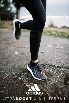 There is no such thing as perfect conditions for a run. Bring on the weather. Come rain, snow, dark, or shine. We won't back down. Learn more about the UltraBOOST X All Terrain at adidas.com.