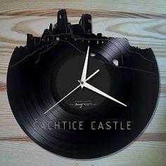 anynOOn / ČACHTICKÝ HRAD - vinylové hodiny na LP