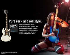 Gibson USA : Pure rock and roll style - SG GODDESS