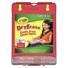 Crayola Color and Go Dry Erase Desk
