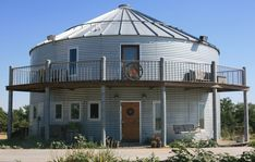 Converted Homes: Grain Bins and Silos