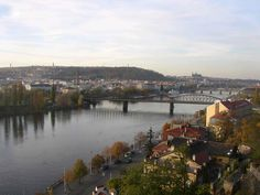 View from Vysehrad, Praha Eurotrip, Czech Republic, Prague, River, Places, Outdoor, Outdoors, Outdoor Games, The Great Outdoors