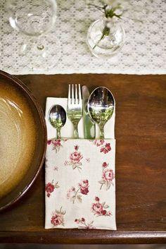 svadbolina / Servítky na stolovanie - kvetinkové