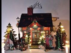 annes papercreations: Templates and Tutorial for the G 45 A Christmas Carol Christmas house and Mini Album