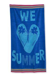 Toalha de praia We Love Summer