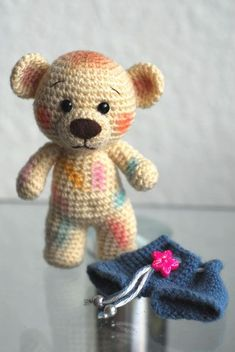 Hobby Horse Accessories - Hobby Room Ideas - Hobby Noiva E Madrinhas - Crochet Santa, Crochet Teddy, Crochet Bear, Cute Crochet, Crochet Animals, Crochet Toys, Baby Knitting Patterns, Craft Patterns, Crochet Patterns