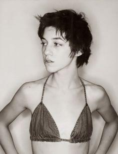 Charlotte Gainsbourg - daughter of Jane Birkin