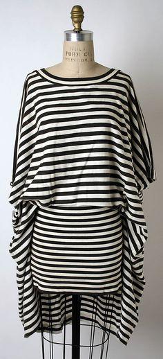 Dress, Issey Miyake, Miyake Design Studio, 1985, Japanese, cotton