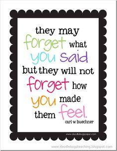 Great teacher quote!