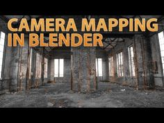 How to do Camera Mapping in Blender