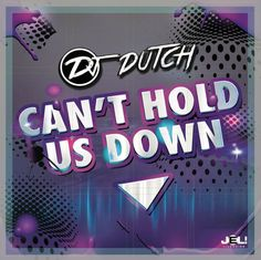 DJ Dutch - Can't hold us down A powerful, uplifting and very catchy track by DJ Dutch.  Guess what? He's from the Netherlands.  Story's about the fact that you may never let your dreams go and nobody can hold you down if you strongly believe in your goals.  It fits both radio playlists and dancefloors!  DJ Dutch is spinnin' all over the country and is now starting  to explore more territories.  His new single is available worldwide on all the major portals  and outlets. Spotify link…