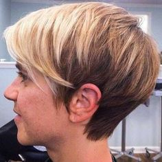 30 Short Trendy Haircuts | http://www.short-haircut.com/30-short-trendy-haircuts.html