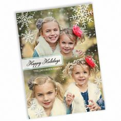 Winter Showcase - Photo Montage Cards in White | Magnolia Press