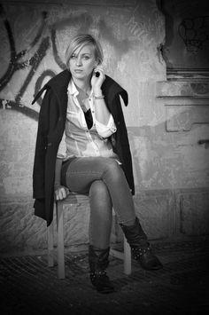 ZUZKA B/W My Photos, Style, Fashion, Pictures, Swag, Moda, Fashion Styles, Fashion Illustrations, Outfits