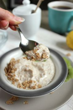 Magical Breakfast Cream from The French Women Don't Get Fat Cookbook