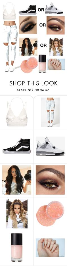 """""""DON'T"""" by rellykk ❤ liked on Polyvore featuring Balenciaga, Kendall + Kylie, Vans and NIKE"""