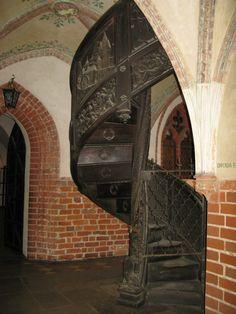 Malbork Castle Spiral Staircase
