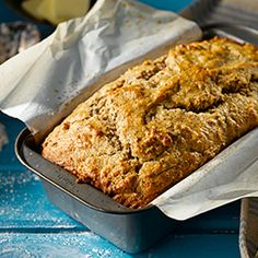 The subtle almond flavour of this loaf makes it a cup of tea's irresistible companion.