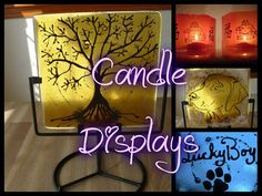 Candle Display Memorials Infused with Cremation by infusionglass, $0.25