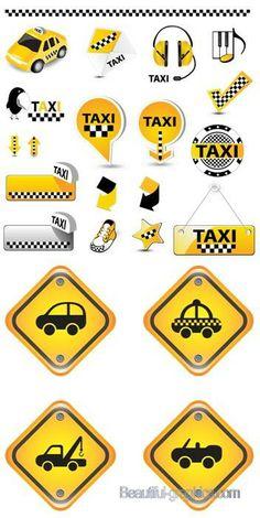 Shiny Taxi Symbols