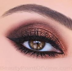 Get The Look #bronze #eyes #eyemakeup #tutorial