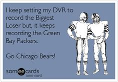 go bears.I hope we make it to the Super Bowl this year! Pro Football Teams, Bears Football, Football Season, Chicago Bears Funny, Green Bay Packers, Vikings, Hilarious, Hockey, Baseball