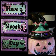 My pastel goth makeup room decor. Jaidyn perkins. Diy Pastel goth. Creepy cute crafts.