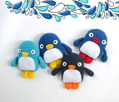 gehaakte pinguins