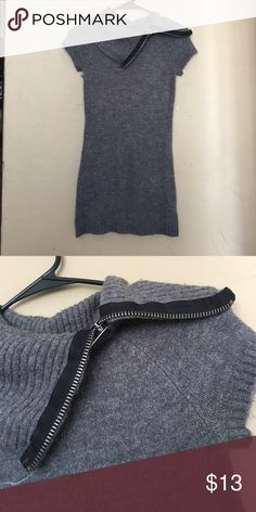 Grey Bodycon Sweater Dress Very cute and stylish. Heather grey, soft fleece material. Can wear either as a Bodycon dress or as a tunic with leggings or tights. I love this dress however I need to make space for my new clothes! Very small, won't fit bigger than a XS.   👀 Like the item, but not the price? SUBMIT ME AN OFFER! 🙅🏽 NO OFFERS on items lower than $10 OR BUNDLED LISTINGS ❓ Don't be afraid to ask me any questions you have!  📫 Same day/Next day shipping 👎🏼 NO TRADES Dresses Mini