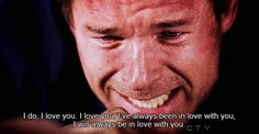 grey's anatomy. mark talking to lexie during one of the biggest tear jerkers!